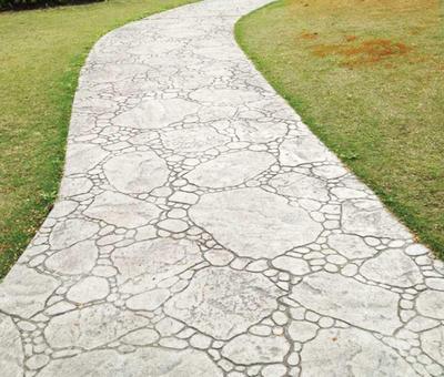 Embossed Floors Stamp Concrete Floor